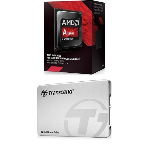 AMD A10-Series APU A10-7850K Socket FM2+ & Transcend 256GB MLC SATA III 6Gb/s 2.5
