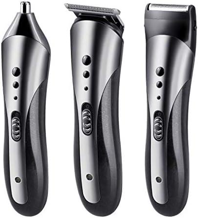 Cortador de pelo impermeable profesional todo en uno recortador de barba cortador de vello facial corporal cortapelos eléctrico cortador de pelo para hombres recortador de barba para hombres