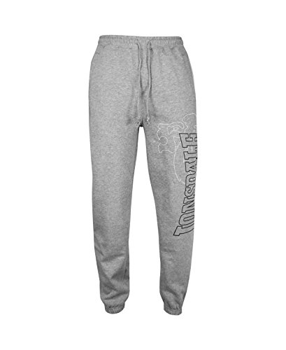 Lonsdale Men´s Dartford Sweatpants Jogging Training Pants Trousers Grey (Large (L)) (Training Lonsdale)