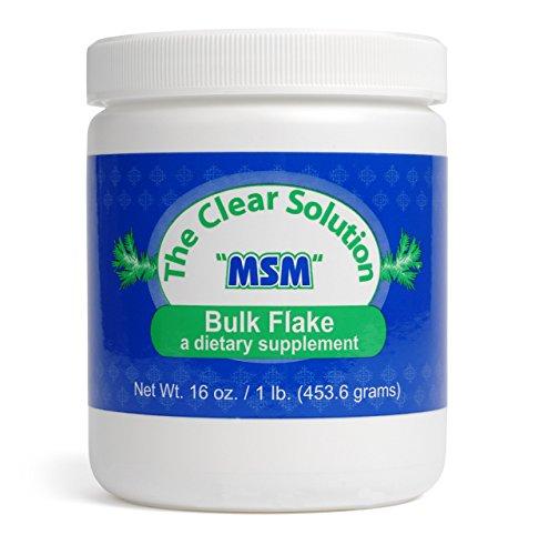 Purest OptiMSM Bulk Flakes Are Quadruple Distilled 1 LB Review