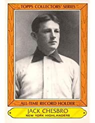 1985 Topps Woolworth #7 Jack Chesbro Baseball Card