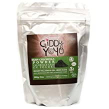 Giddy Yoyo Organic Chlorella Powder, 200g (7oz)