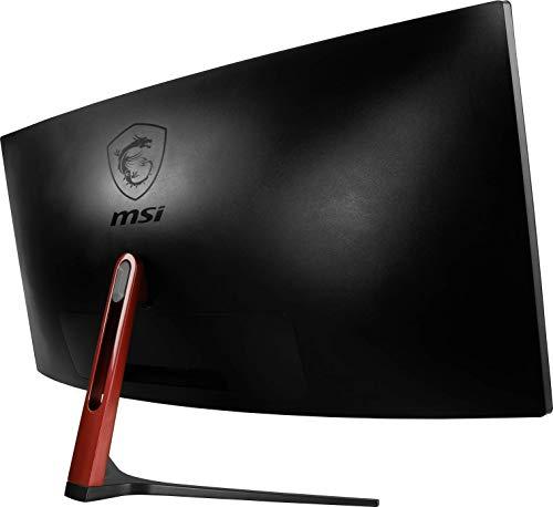 "MSI Non-Glare UltraWide 21:9 Screen 8ms 3440 x 1440 100Hz FreeSync 3K Resolution 34"" Curved Gaming Monitor (Optix MAG341CQ)"