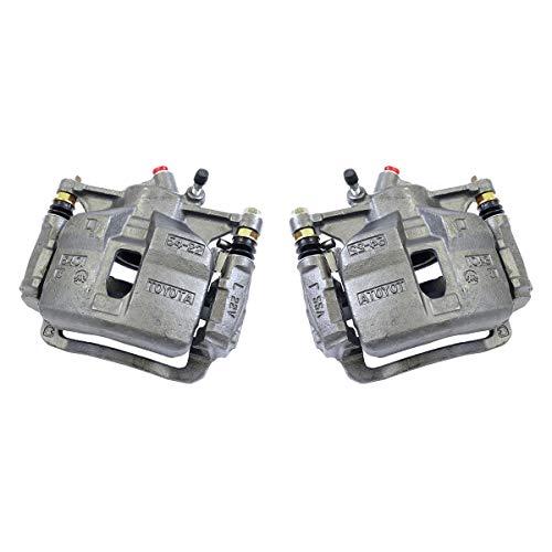 Callahan CCK04307 [2] FRONT Premium Semi-Loaded Original Brake Caliper Pair + Hardware [ Geo Prizm Toyota Corolla - Geo Prizm