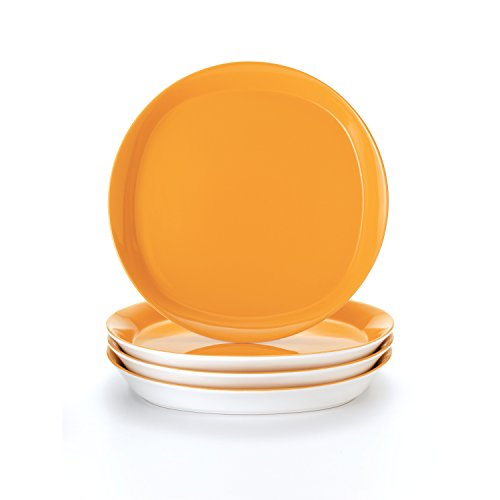 Rachael Ray Round and Square 4-Piece Dinner Plate Set  sc 1 st  Amazon.com & Casual Dinner Plates: Amazon.com