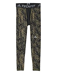 adidas Men's Techfit Base Shards Graphic Tight