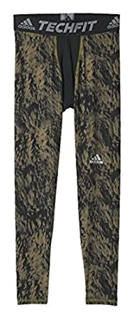 adidas Men's Techfit Base Shards Graphic Tight S94430