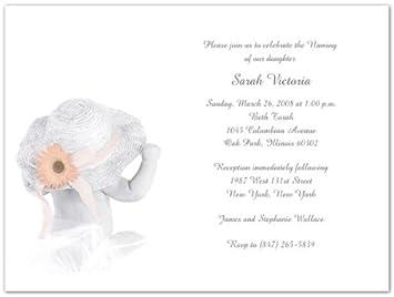 amazon com taryn baby naming invitations baby shower party