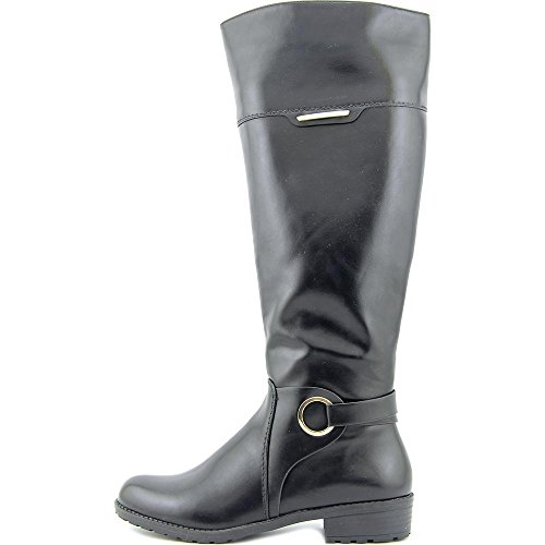 Fashion Boots Closed Womens High Fashion Toe Boots Alfani Black Jadah Knee YqU460W