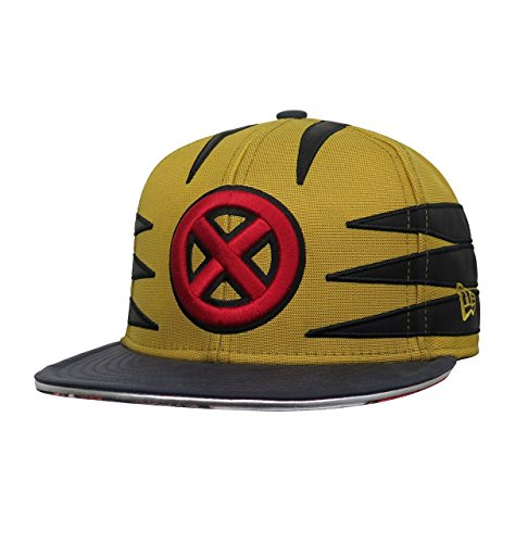 Classic Wolverine Costumes (Wolverine Classic Costume Armor New Era 59Fifty Hat (7 1/4 Fitted))