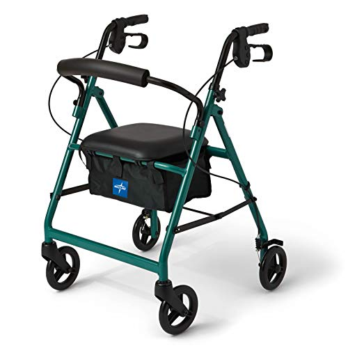Medline Aluminum Rollator Walker