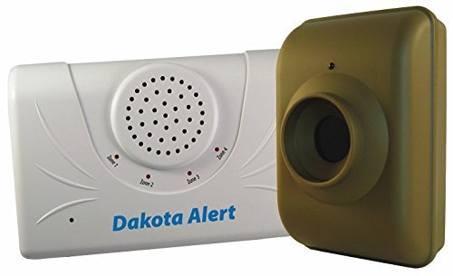Dakota Alert DCMA-2500 Driveway Motion Alert 2500′ Kit (Green White)