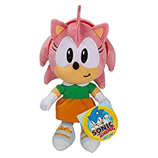 """Sonic The Hedgehog Amy Plush 7"""" Scale"""