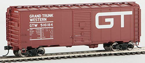 Walthers HO Scale 40' AAR 1948 Boxcar Grand Trunk Western/GTW/Large Logo #516184