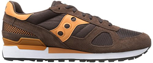 Orange Uomo Sneaker Shadow Original Saucony Brown TX10qnp