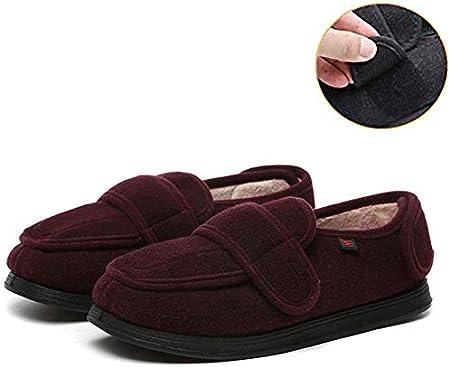 DGDD Damen Diabetiker Schuhe, extra breit, Klettverschluss