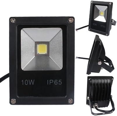 Foco Proyector de LEDs para Exterior 10W 3500K LUZ CALIDA: Amazon ...
