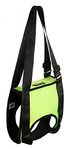 OCSOSO Pet Auxiliary Belt Dog Harness Carriers Assist Sling Portable Lift Security Support Rehabilitation with Handle For Canine Aid Dog (L, Green) by OCSOSO