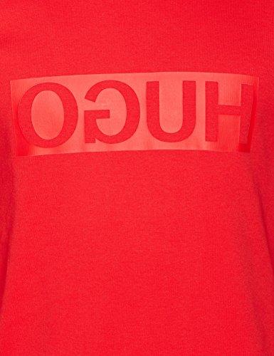 Uomo Hugo bright Red Rosso 620 Dicago U Felpa qZZwvPU1
