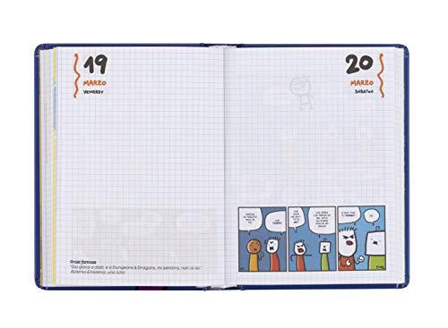 Comix – Diario 2020/2021 16 Mesi – Comix Scottecs by Sio colore Blu – Medium