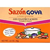 Sazon Goya Con Culantro Y Achiote 1.41 Oz (Pack of 6)