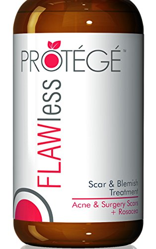Protege FLAWless Scar Gel Cream, Best for Scar Removal, F...
