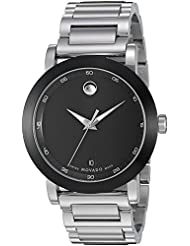 Movado Mens 0606604 Museum Sport Stainless Steel Watch