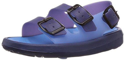 Tahiti Girl's Navy Blue Fashion Sandals - 10 UK (713)