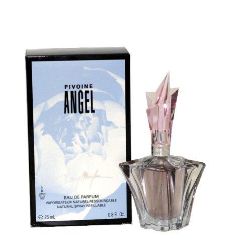 Thierry Mugler Angel Peony 0.8 oz EDP Refillable Spray Women Ladies New