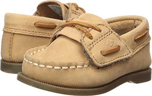 SPERRY Boys' Authentic Original Crib Jr Shoe, Sahara, 4 Medium US Toddler
