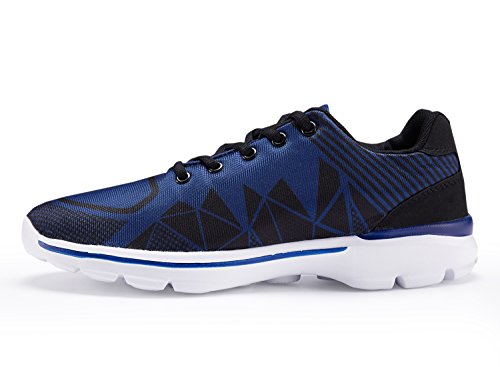 UMmaid Mens Tennis Schuhe Casual Leicht Sport Laufschuhe Walking Sneakers 2.blau