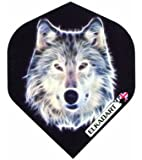 Elkadart Wolf Dart Flights (1 Set) - Extra Strong
