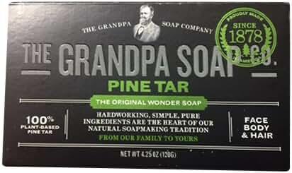Grandpa Soap Pine Tar 4.25 oz (Pack of 6)