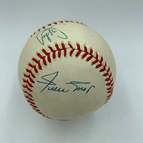 Rare Willie Mays, Barry Bonds & Bobby Bonds 30/30 Club Signed Baseball - JSA Certified - Autographed Baseballs
