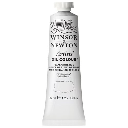 Winsor & Newton Artists' Oil Colour Paint, 37ml Tube, Flake White Hue ()