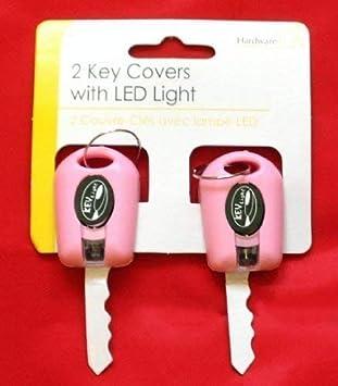 2x Iluminaci/ón LED Llave Fundas Mando Luz