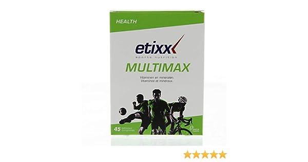 Etixx Multimax - 45 Comprimidos: Amazon.es: Salud y cuidado personal