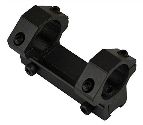 22 Medium Profile Rings - SNIPER Airgun/.22 Medium Profile Scope Ring Mount/1 Piece/Fits Dovetail 11mm Rail Base Mount