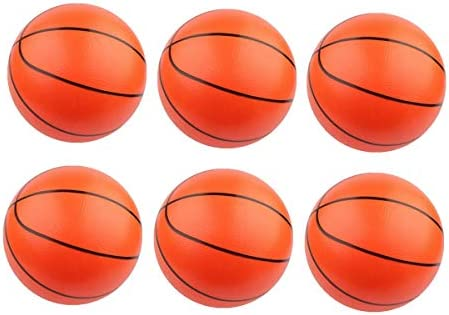 Amosfun 6pcs Mini Pelotas de Piscina Inflable de Baloncesto ...