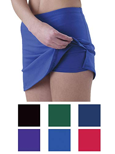 - Pizzazz Women Black Victory V-Notch Skirt Boys Cut Briefs Adult Large