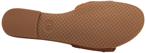 UGG - Sandalias de vestir de Piel para mujer azul marrón marrón