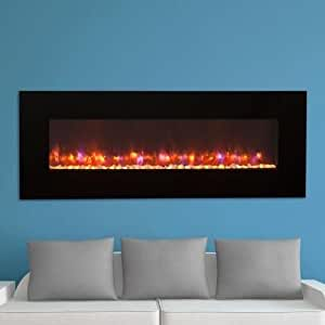 outdoor great room ge 70 70 inch gallery linear electric led fireplace includes led. Black Bedroom Furniture Sets. Home Design Ideas