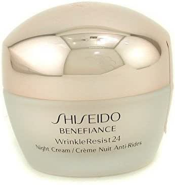 SHISEIDO BENEFIANCE NIGHT CREAM 1.7 OZ SHISEIDO/BENEFIANCE WRINKLE RESIST 24 NIGHT CREAM 1.7 OZ (50 ML)