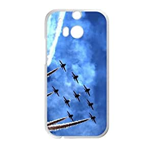 HTC One M8 Cell Phone Case White Air Parade Ymnaq