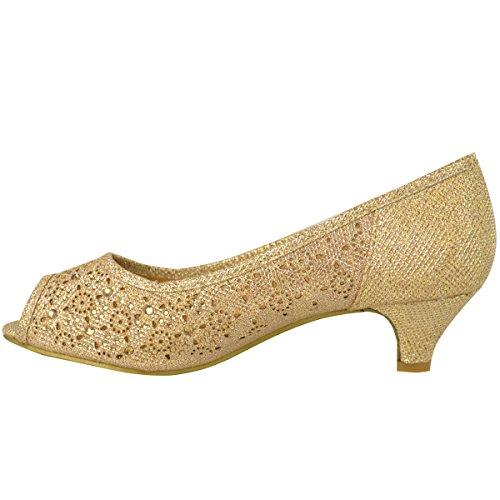 Mujer Bajo Zapatos De Sal Gatito xqUq0nrTFP