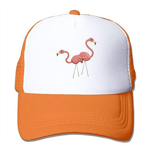 Uzhongquux Cartoon Flamingos Summer Mesh Cap With Adjustable Snapback Strap - In Dells Stores Wisconsin