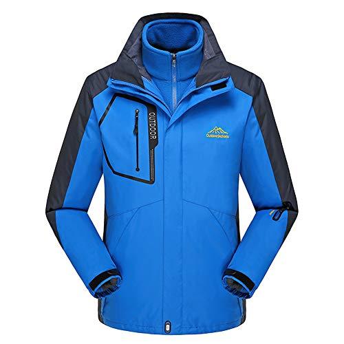 para Aire 3 Recorrido tamaño los Que Chaquetas en Azul Interior el de Caza Deportes los HAINE XL 1 Hombres montañista acampan Libre más al 8XL PpfZq5