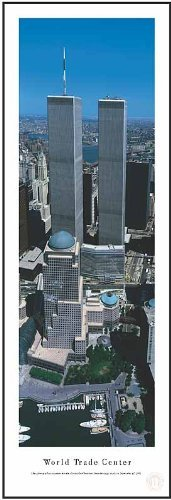 New York City World Trade Center 13.5x40 Panoramic Photo