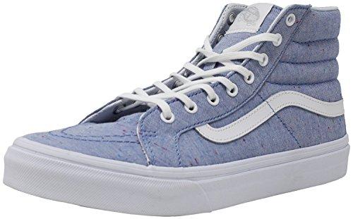 Sk8 True White Slim Hi Vans Shoes Womens Blue 4qOwS5U