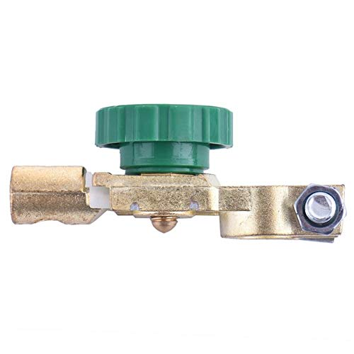BFHCVDF Professional Battery Terminal Link Switch Quick Cut-Off Disconnect Switch Green /& Gold